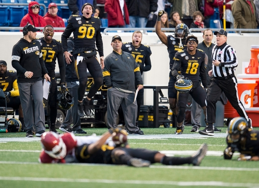 Missouri Tigers v. Arkansas Razorbacks